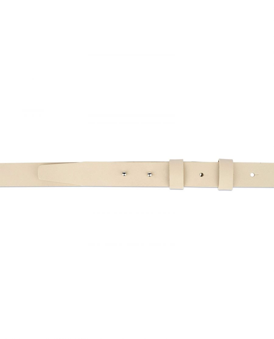 1 inch womens sand belt without buckle 3