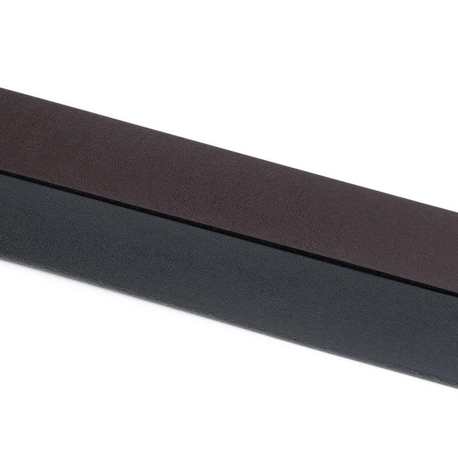 Reversible Belt Strap Black Brown 1 Inch2