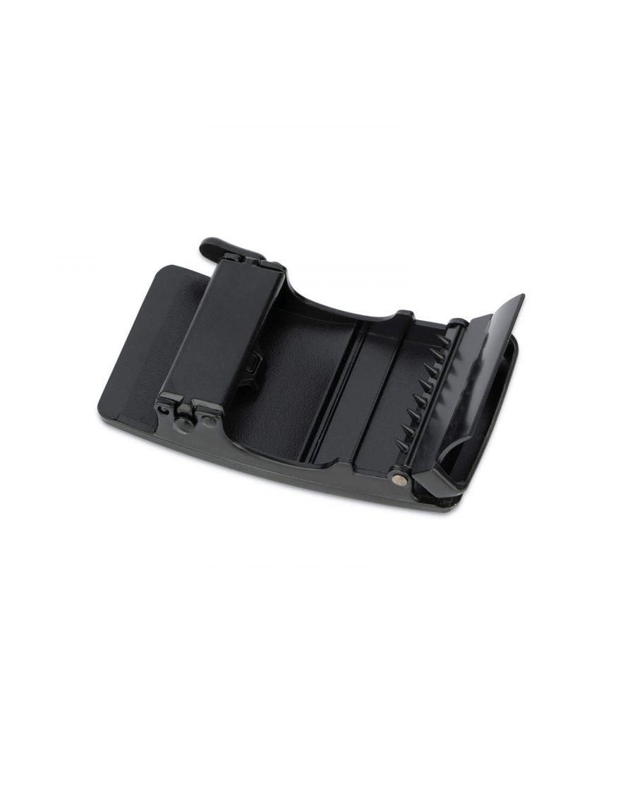 black ratchet belt buckle for men 3