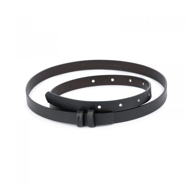 black replacement belt strap 15 mm 1