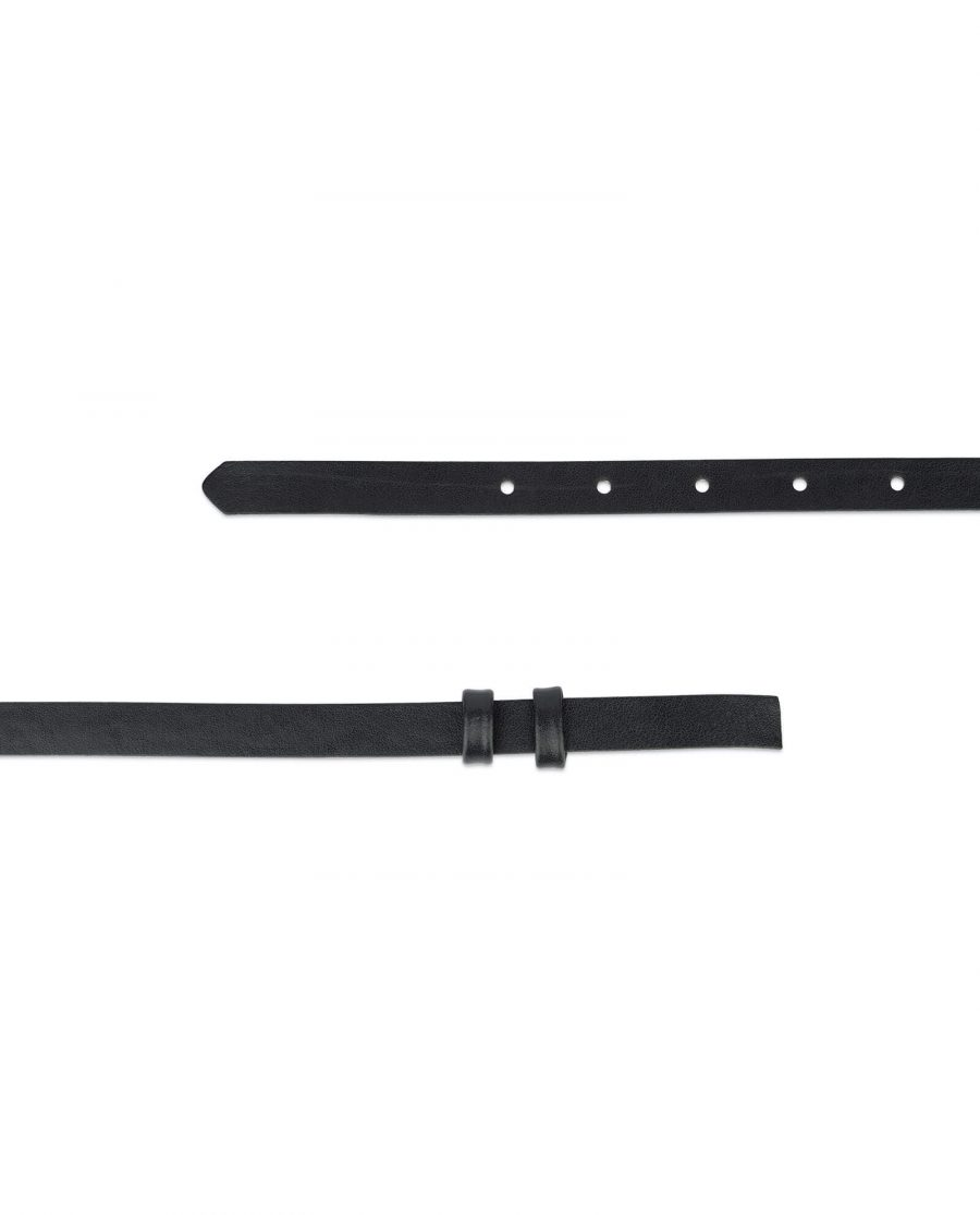 black replacement belt strap 15 mm 2