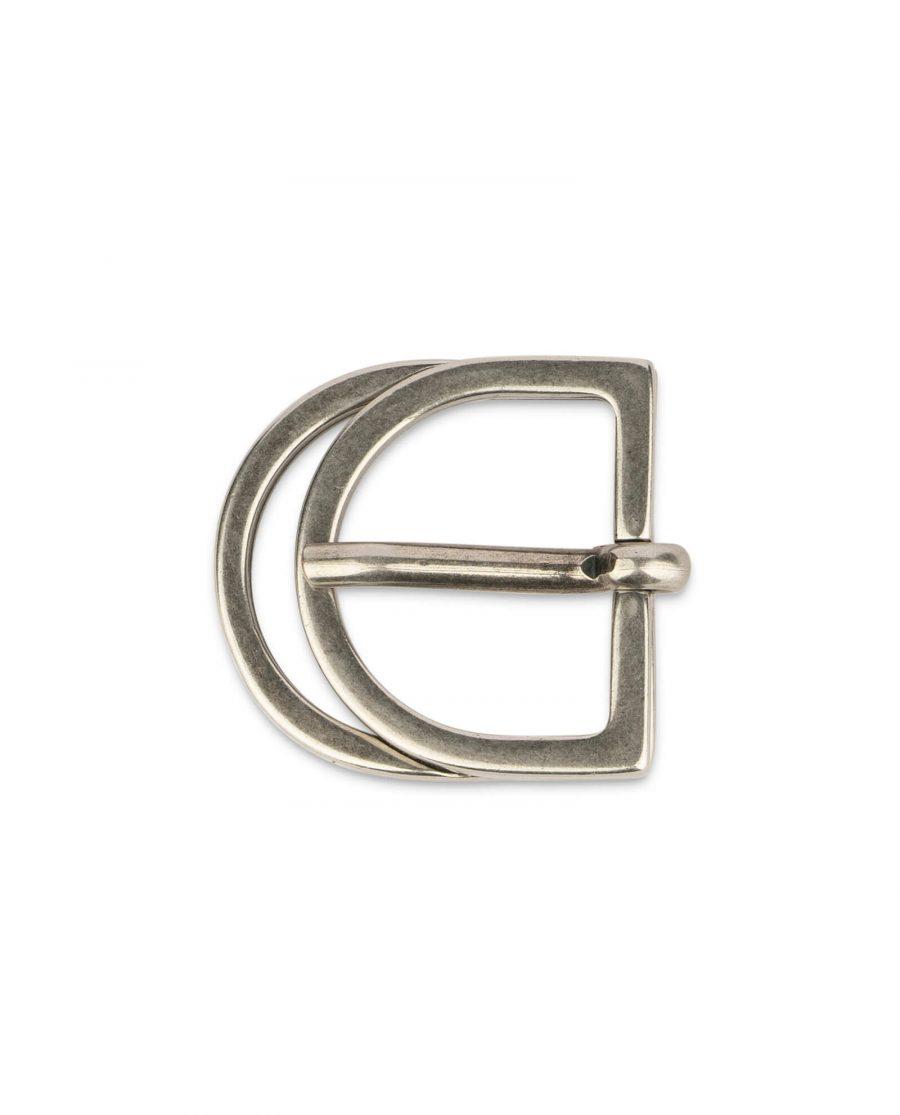 double D ring belt buckle 30 mm3