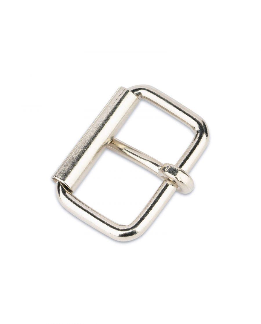 nickel roller buckle for belts 31 mm 3