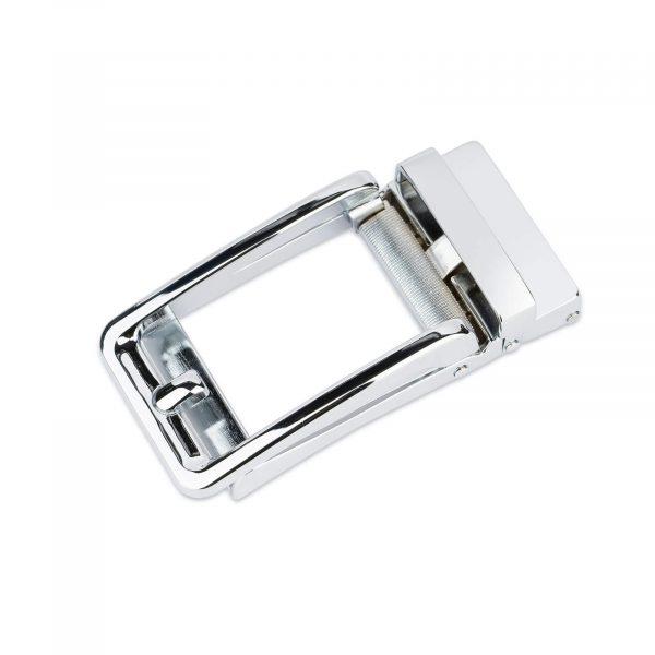 silver slide belt buckle for mens belts 1