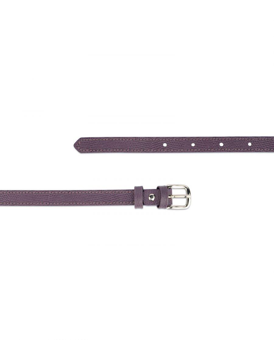 violet womens skinny belt 2