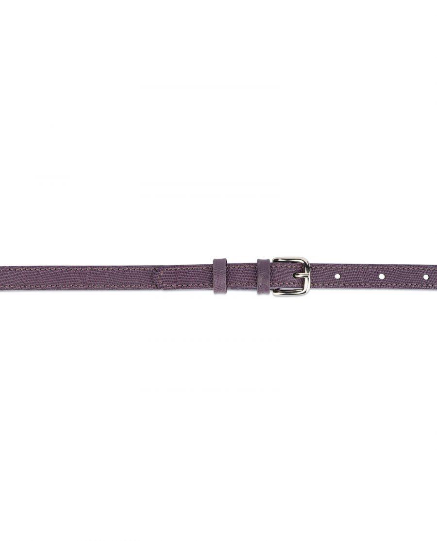 violet womens skinny belt 3