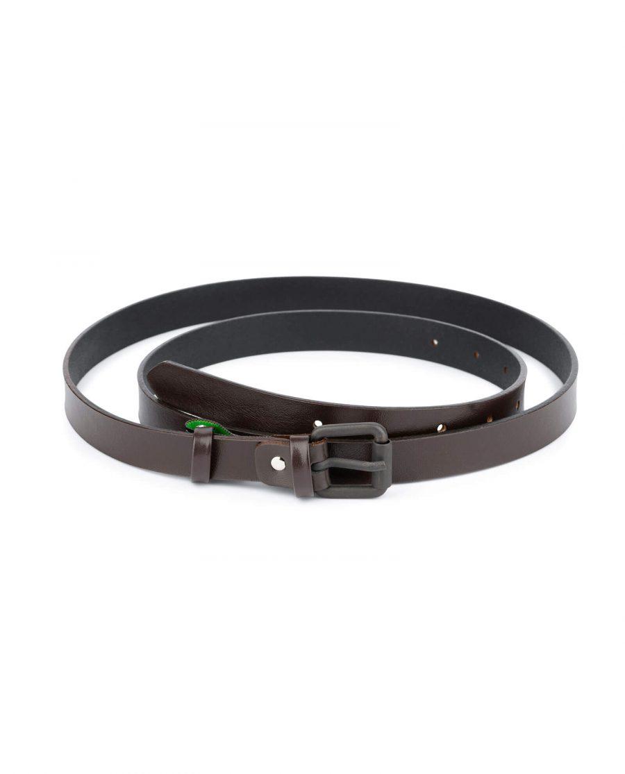 womans brown belt 2 0 cm 1