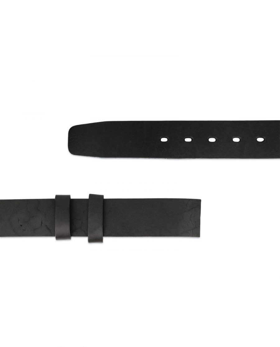 1 5 inch replacement full grain leather belt strap 1