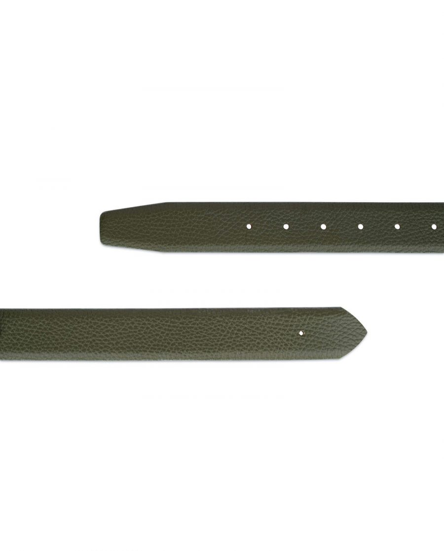 forest green replacement belt strap without buckle 2
