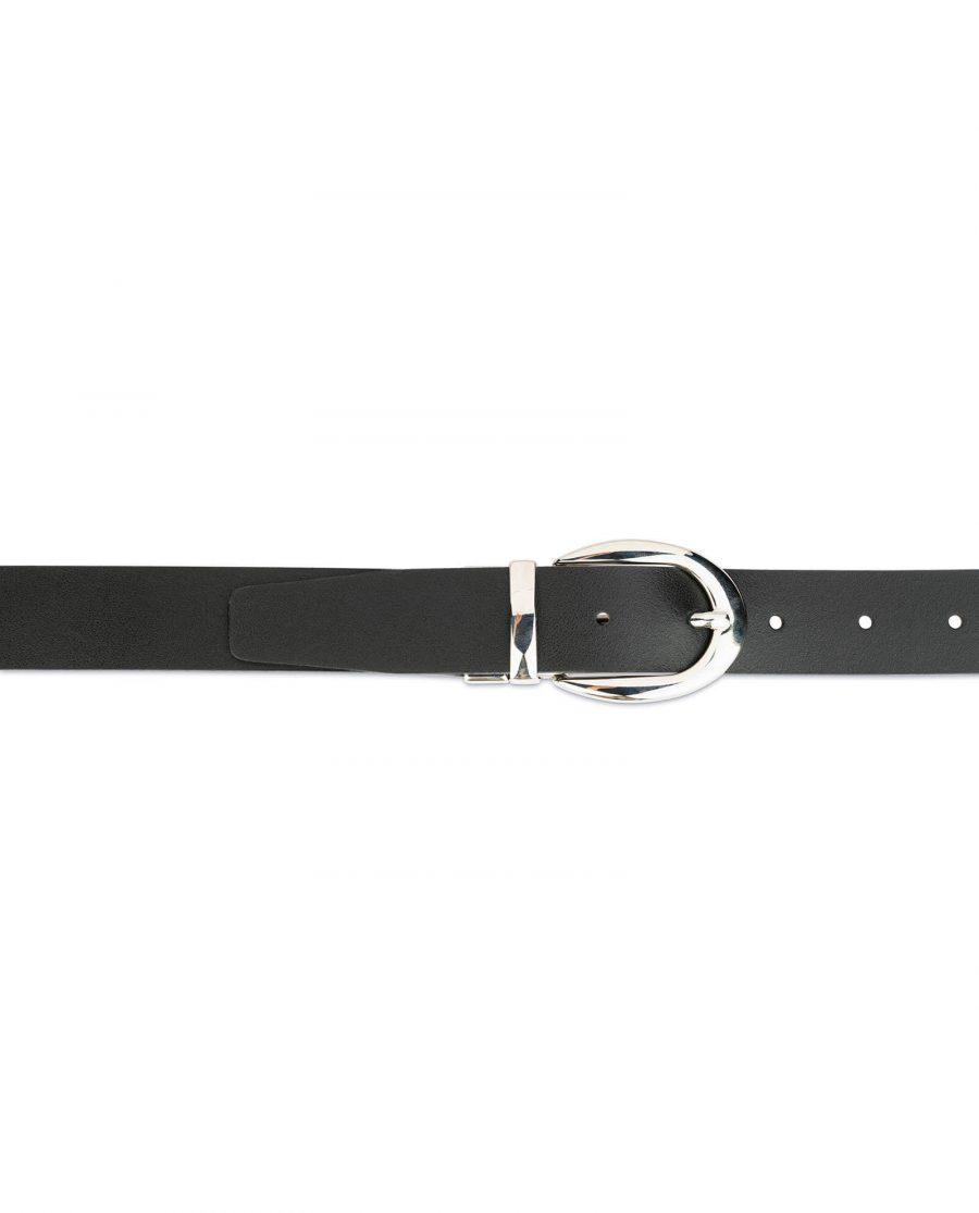 reversible leather belt for women 2