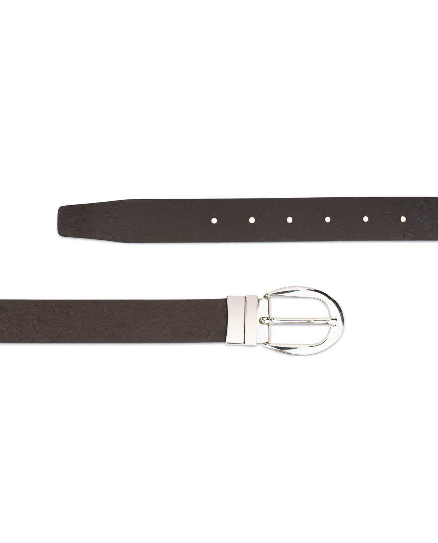 reversible leather belt for women 3