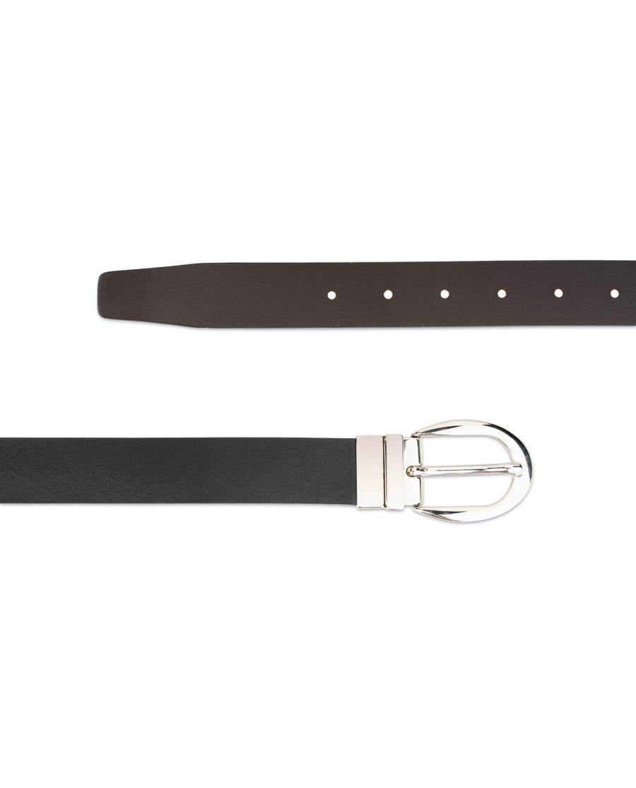 reversible leather belt for women 4