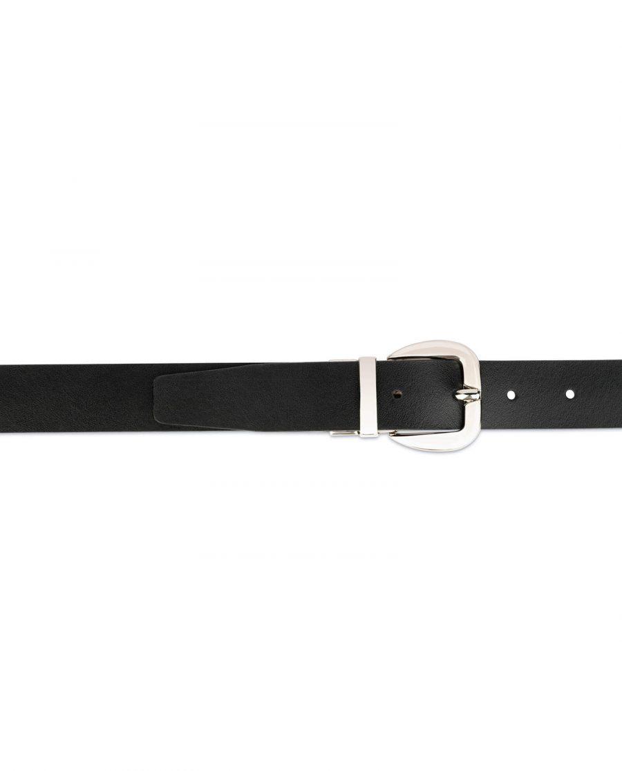 womens reversible belt Black Brown 4
