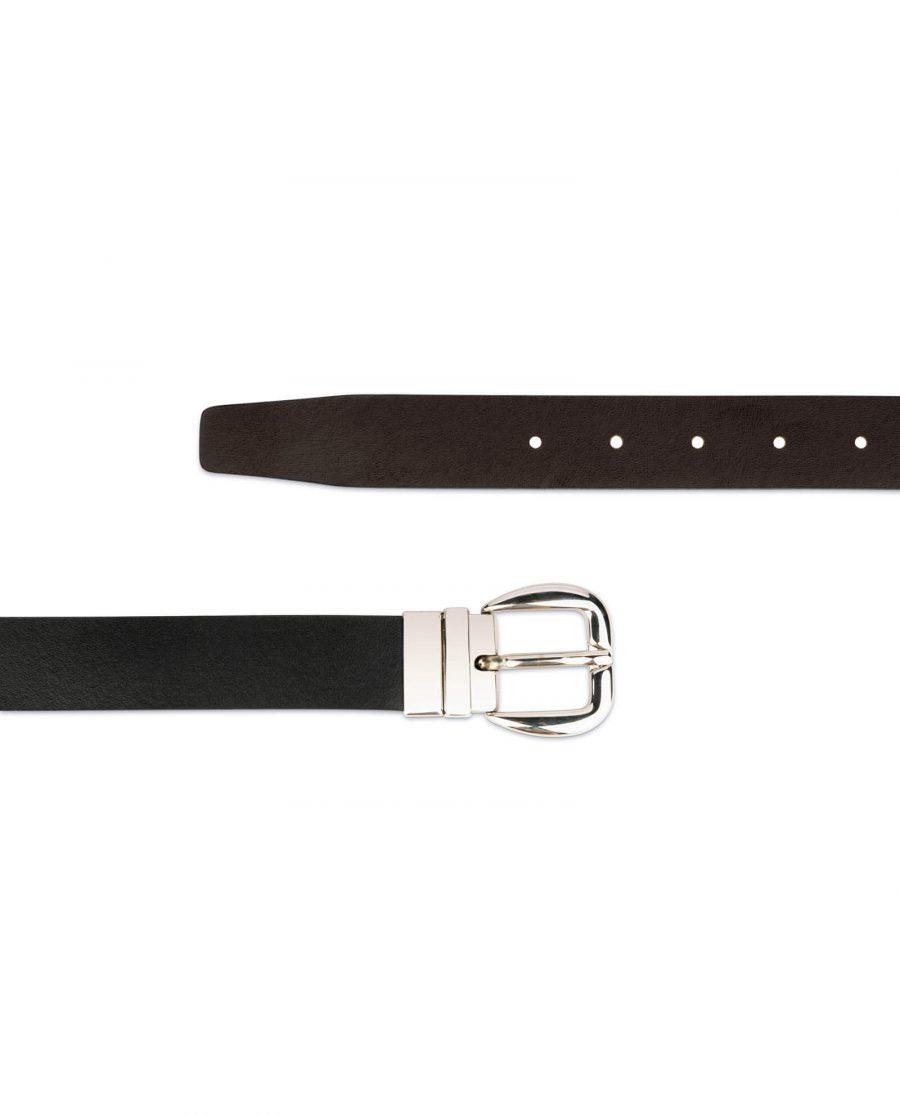 womens reversible belt Black Brown 5