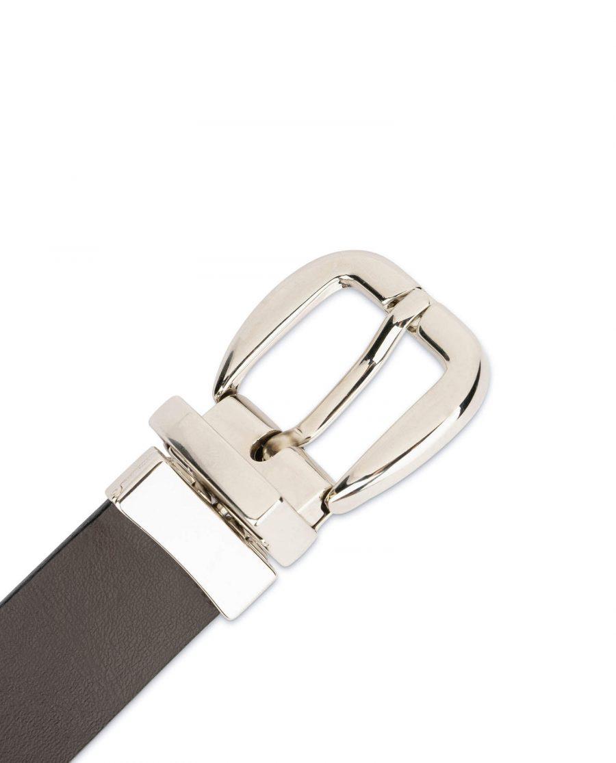 womens reversible belt Black Brown 7