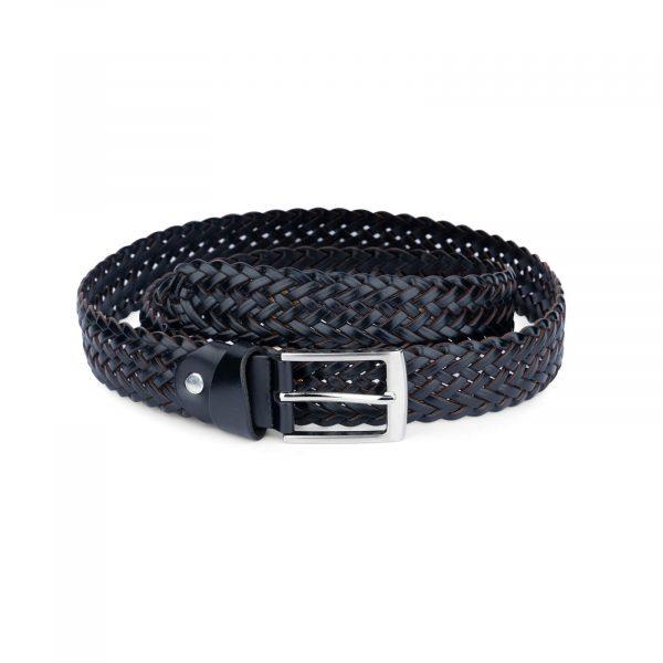 black braided belt for men 35usd 4