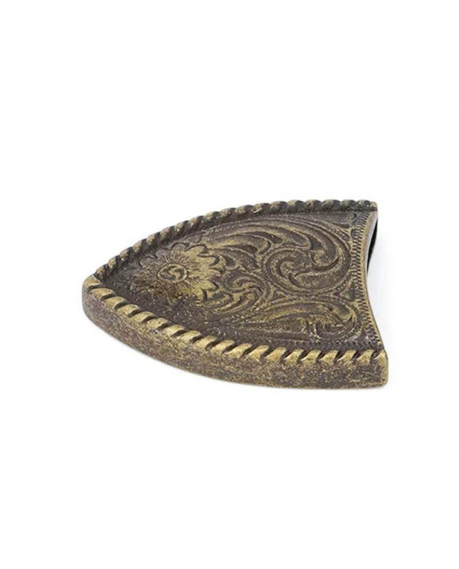 bronze belt end caps tips bronze 38mm 5usd 4