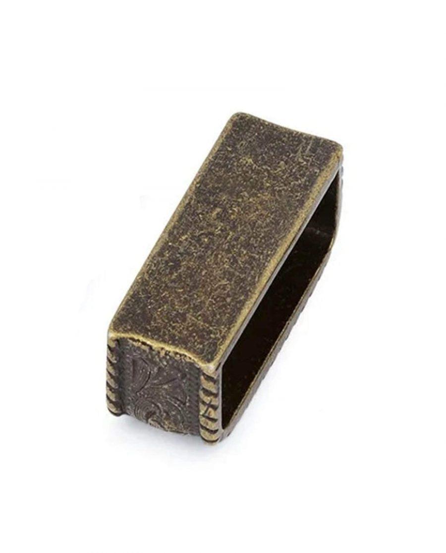 bronze western belt metal loop 38mm 5usd 3