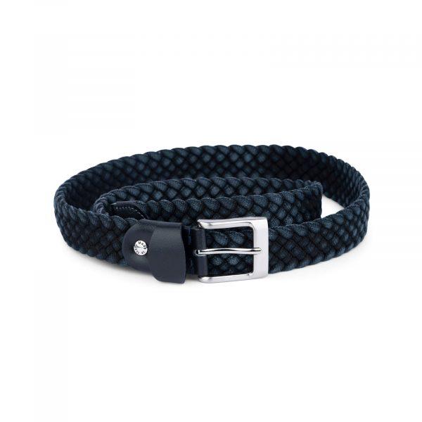 dark blue woven mens belt 19usd 4