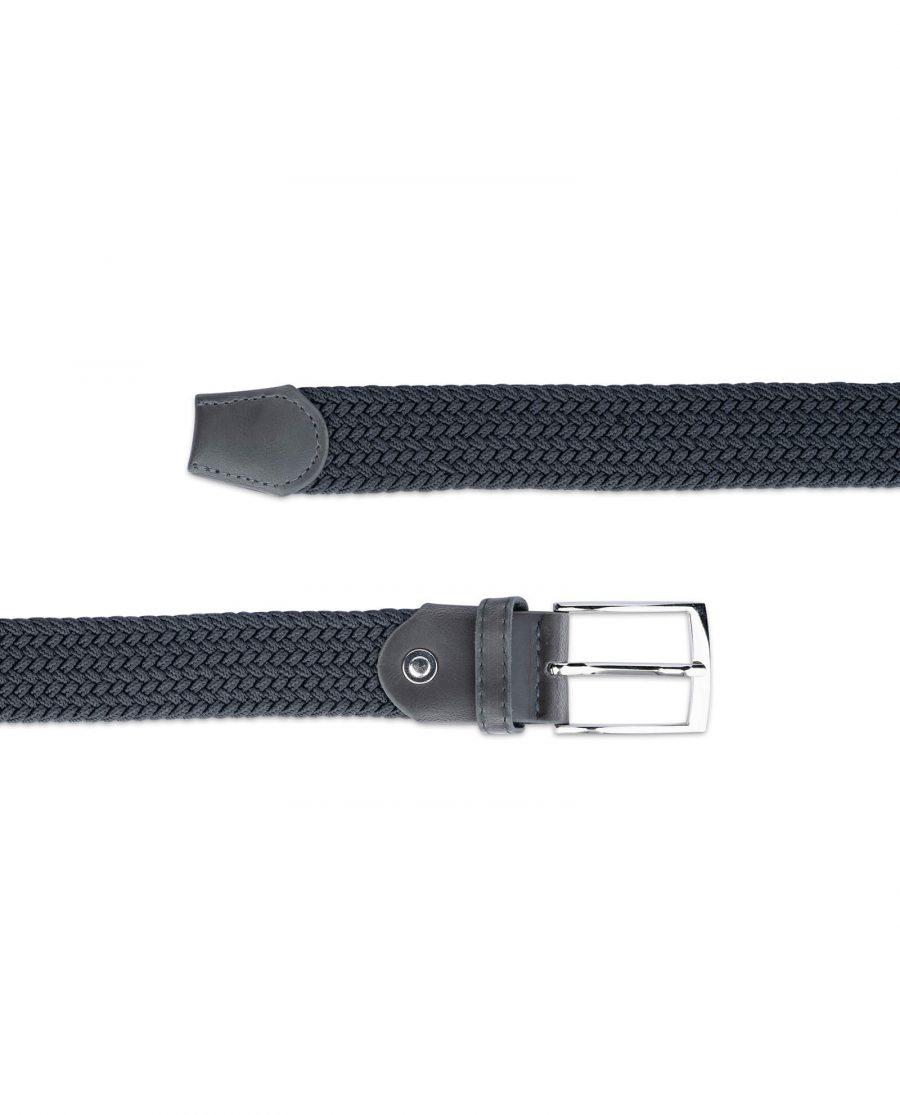 dark grey stretch belt for men 19usd 2