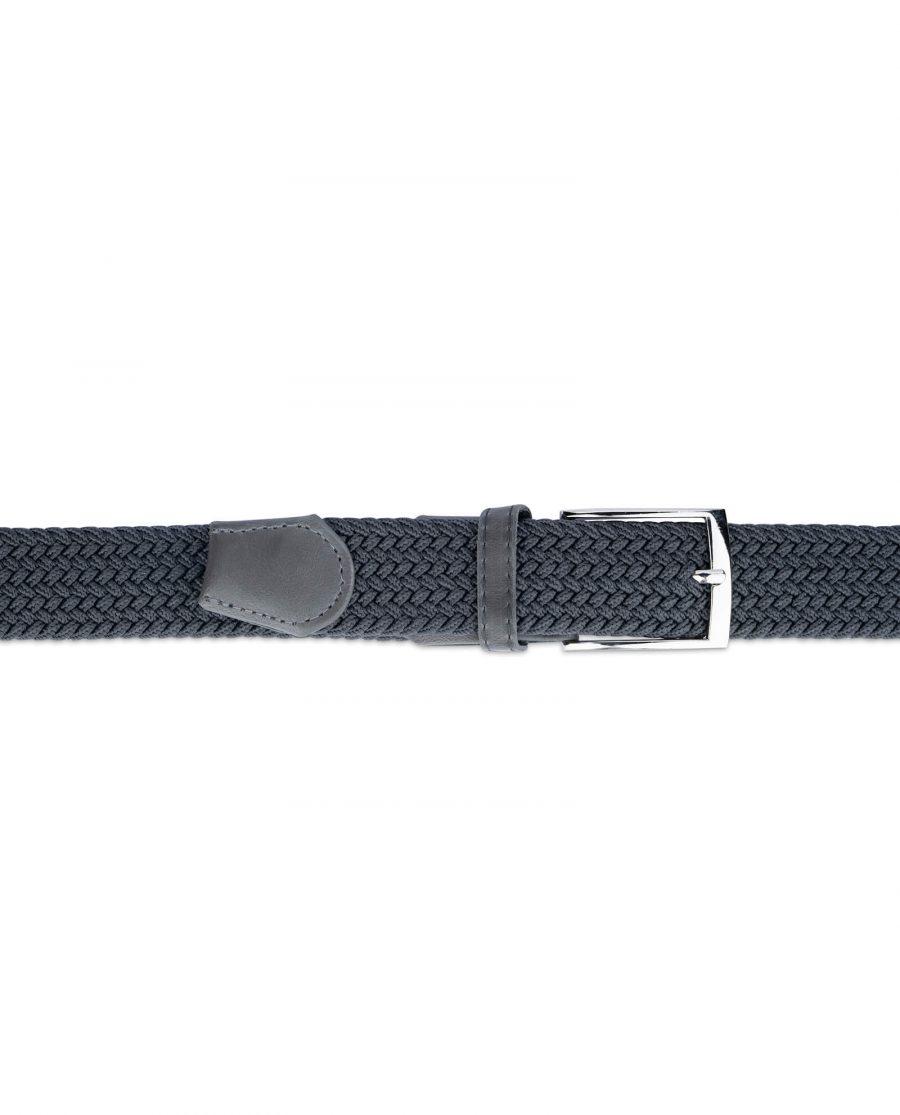 dark grey stretch belt for men 19usd 3