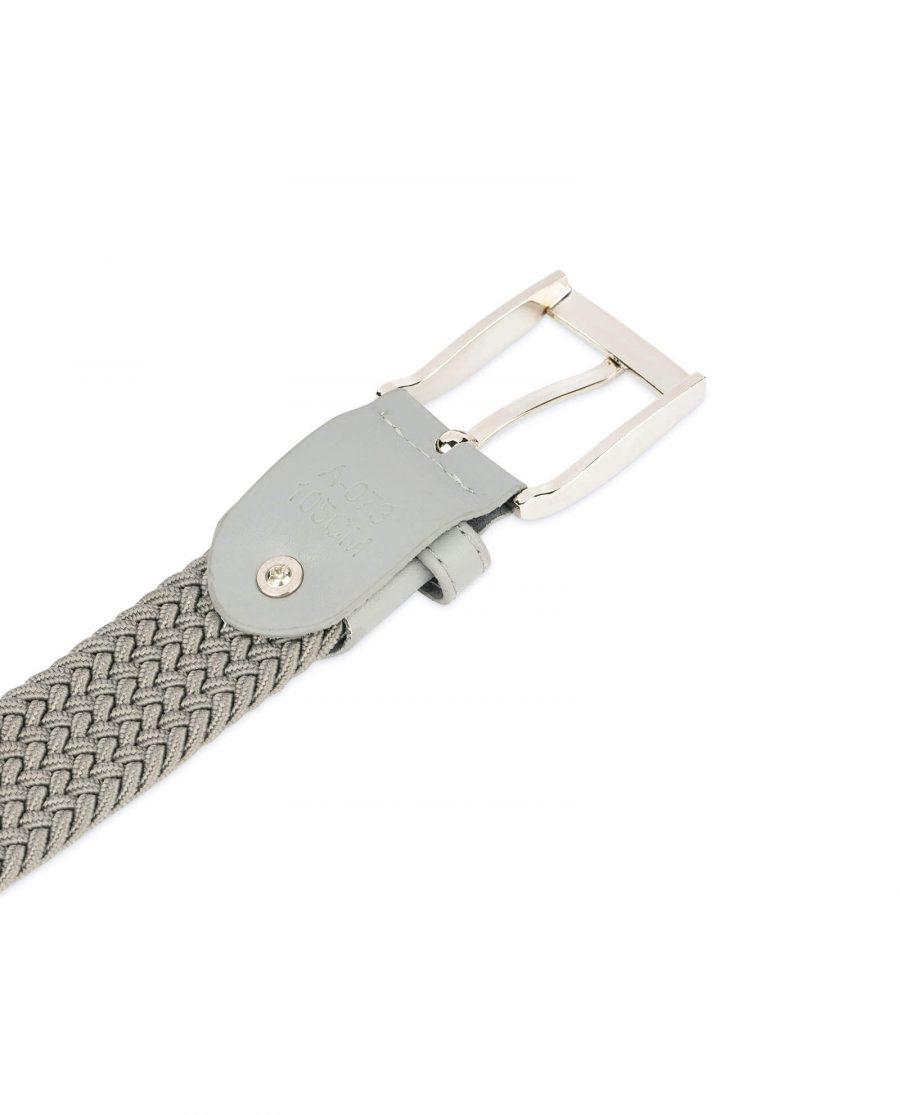 gray stretch belt for men 19usd 1