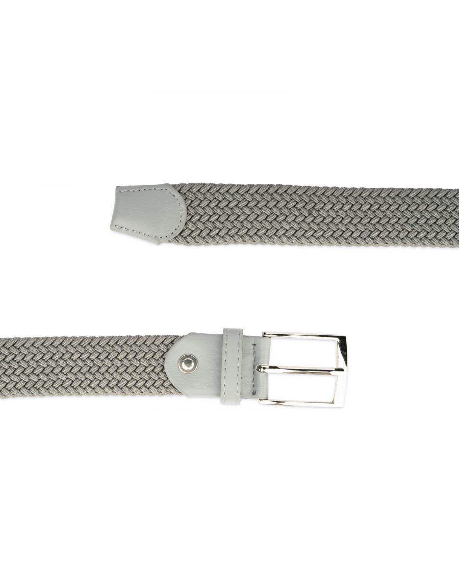 gray stretch belt for men 19usd 3
