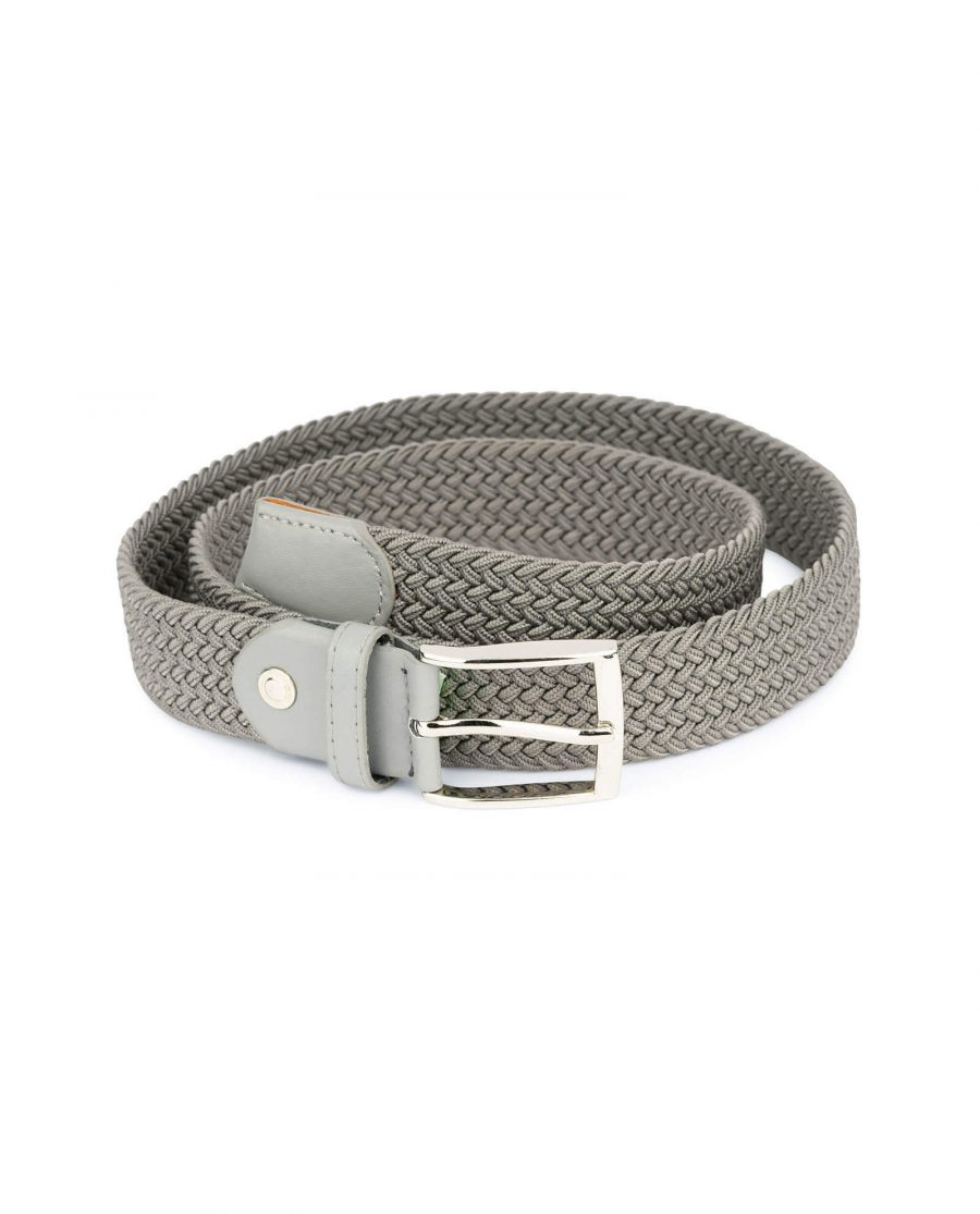 gray stretch belt for men 19usd 4