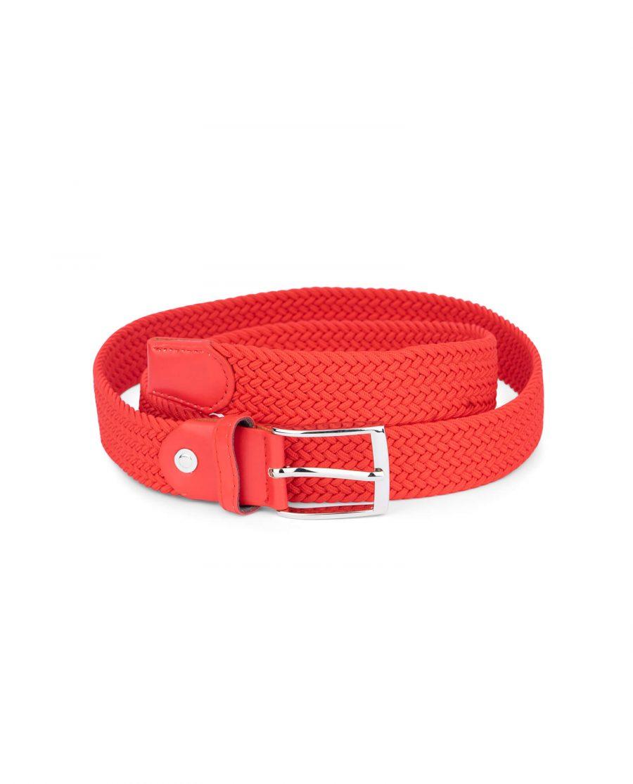 mens red stretch belt 19usd 1