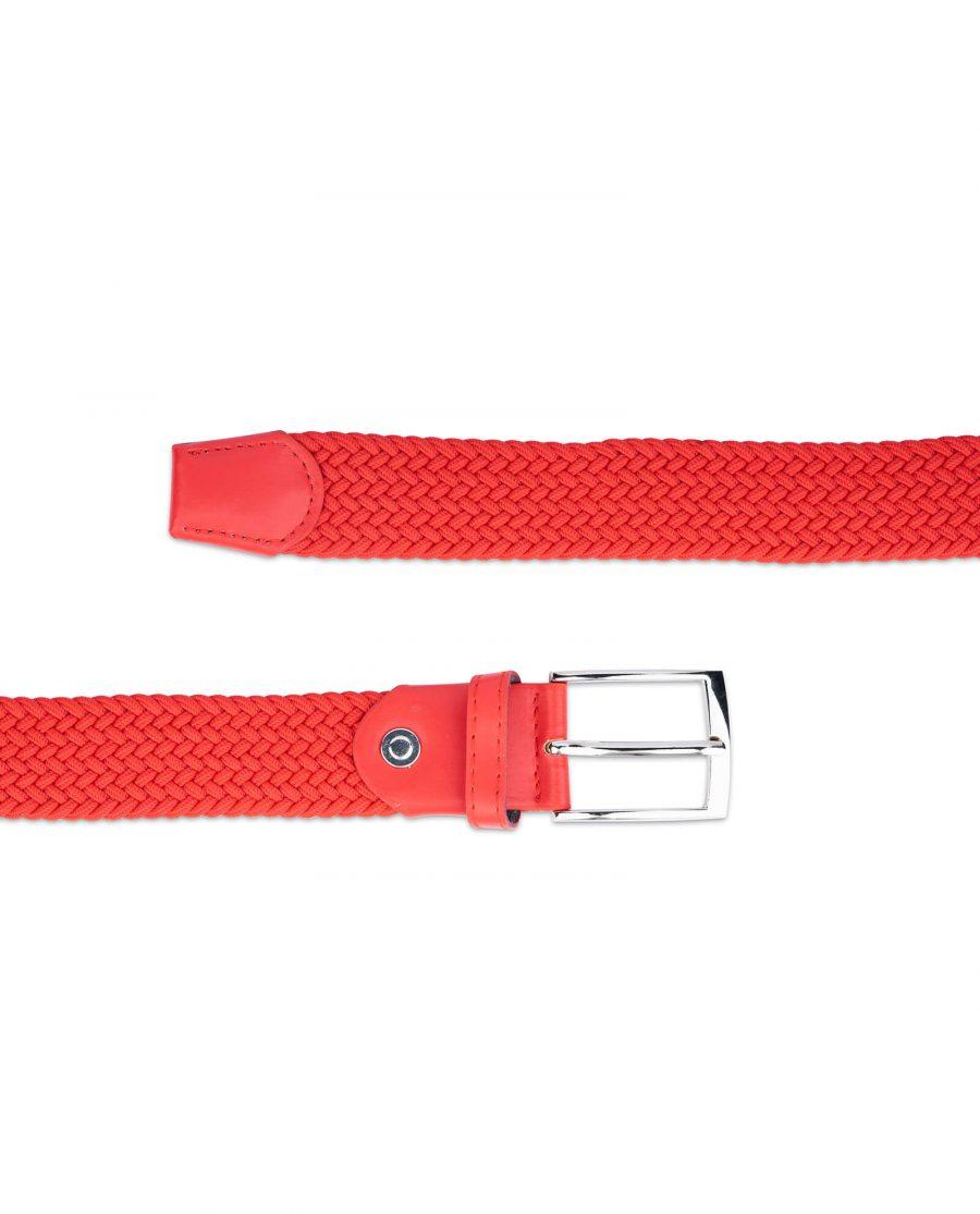 mens red stretch belt 19usd 3
