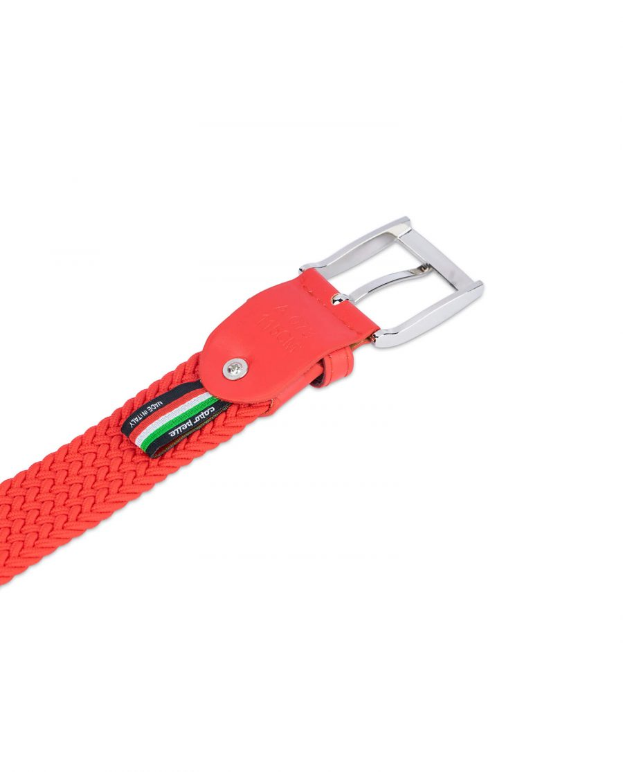 mens red stretch belt 19usd 4