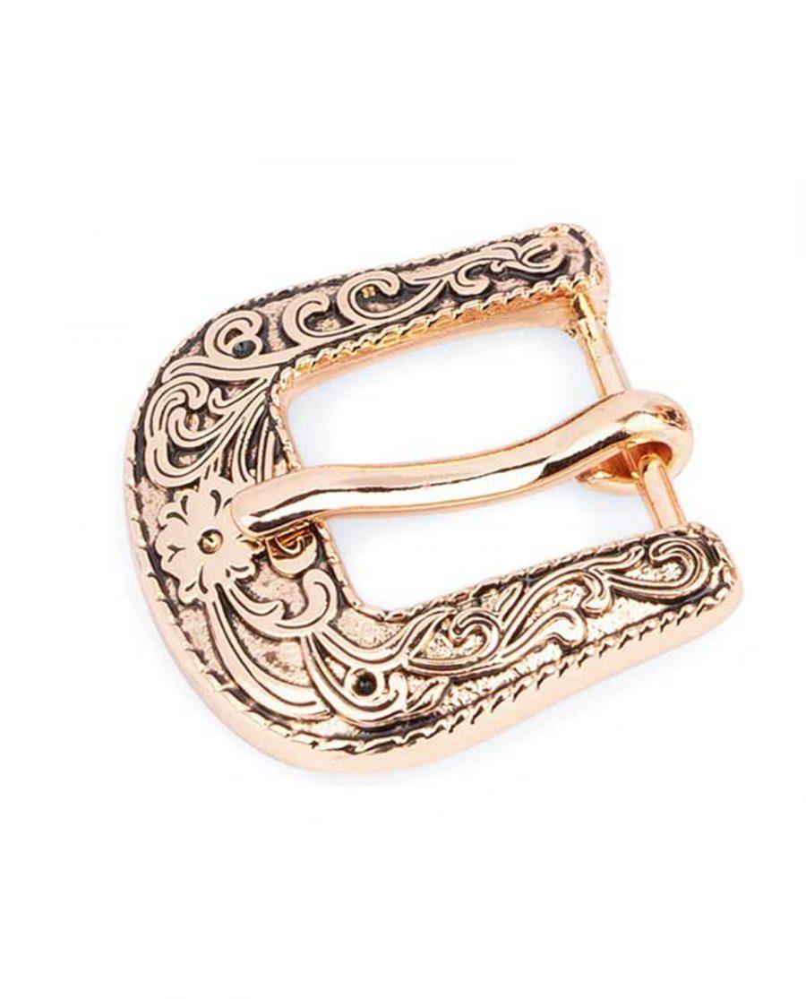 rose gold womens belt buckle western 15mm 10usd 0