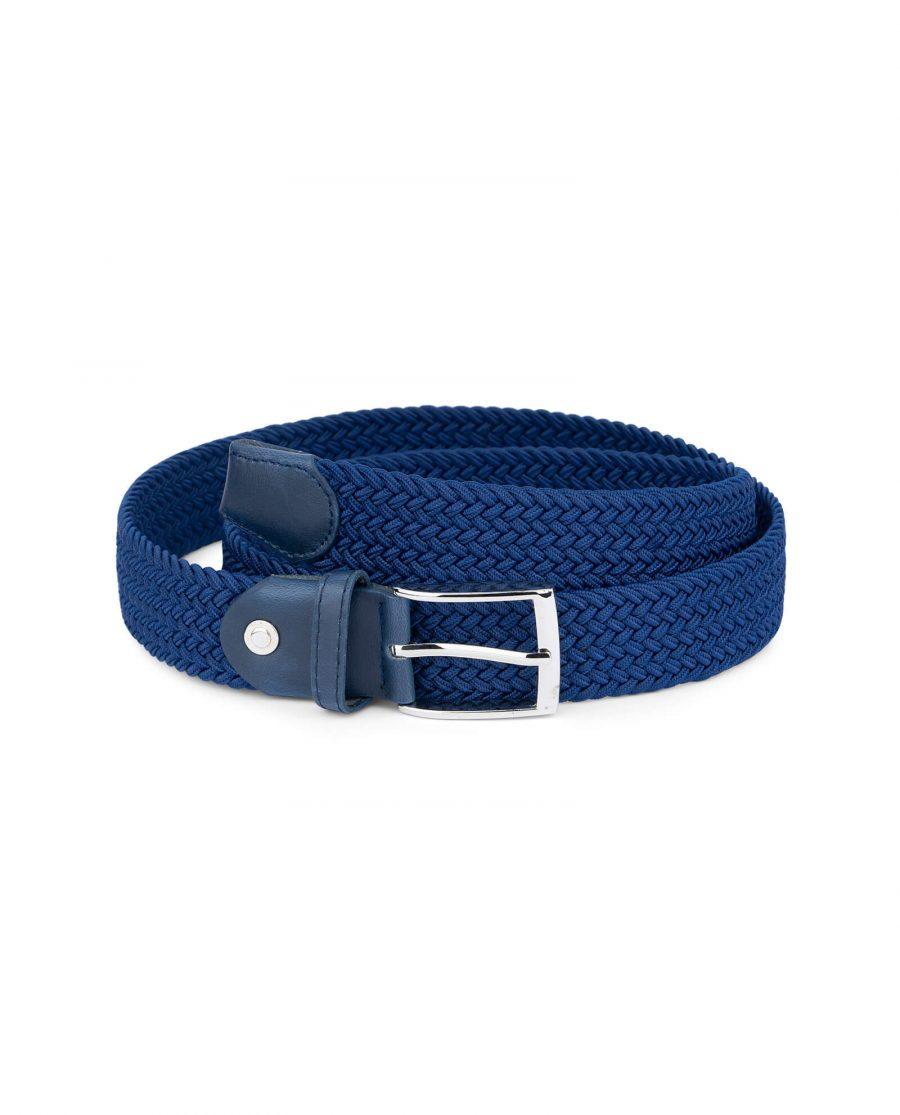 royal blue mens stretch belt 19usd 1