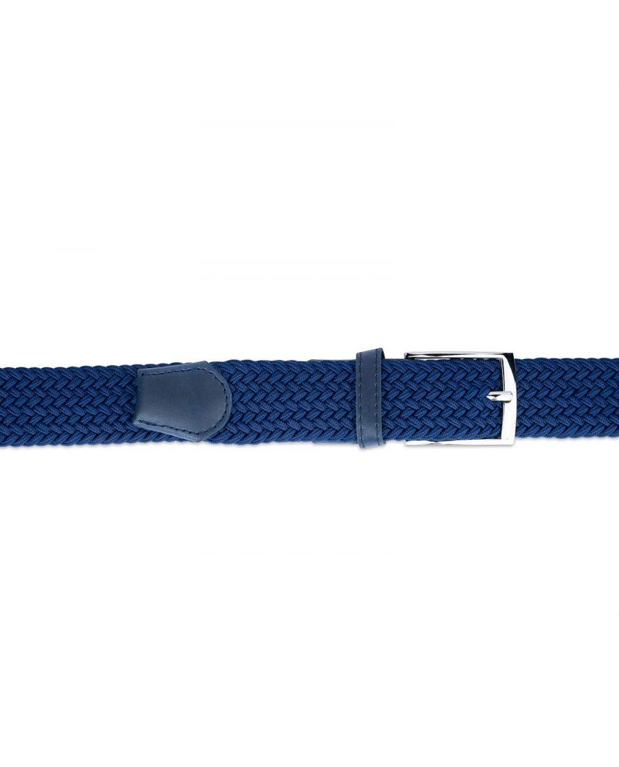 royal blue mens stretch belt 19usd 2