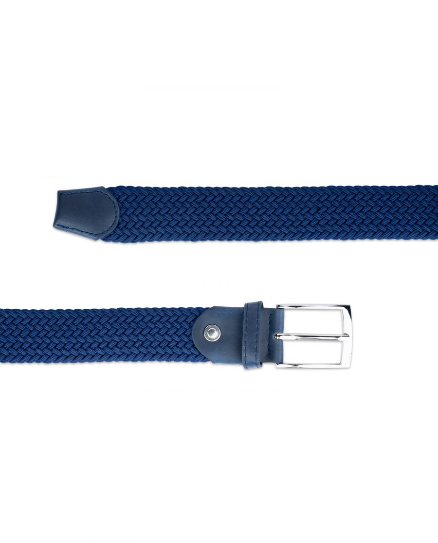 royal blue mens stretch belt 19usd 3