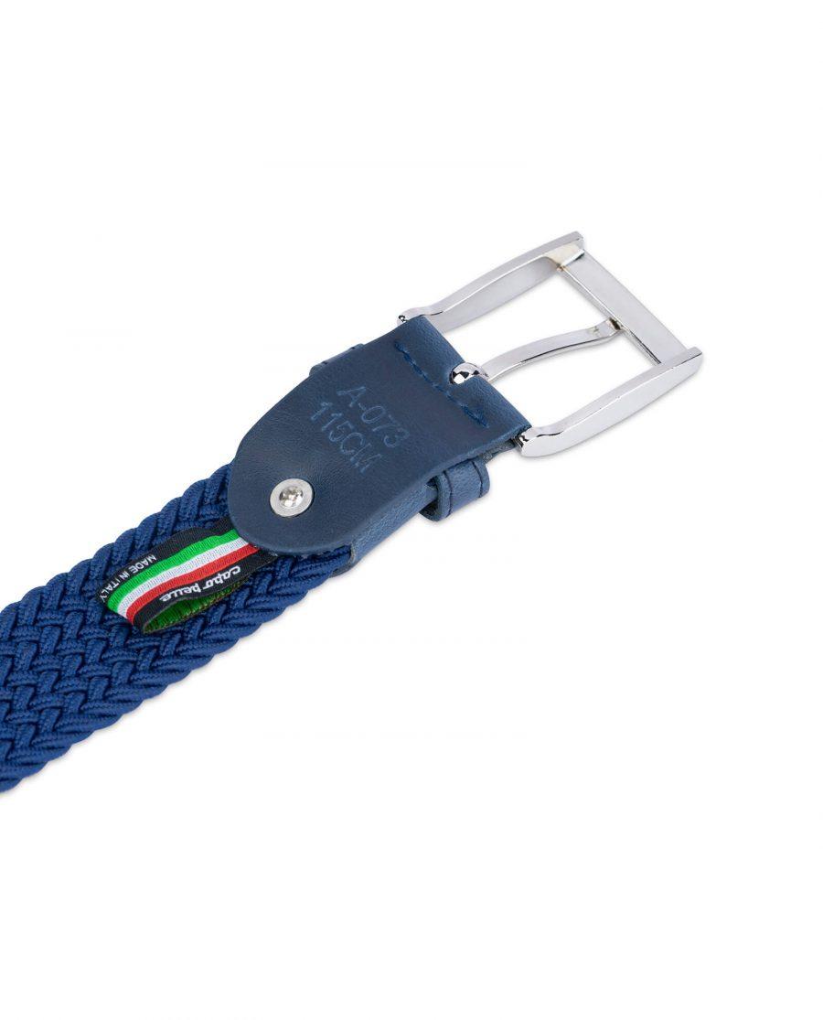royal blue mens stretch belt 19usd 4