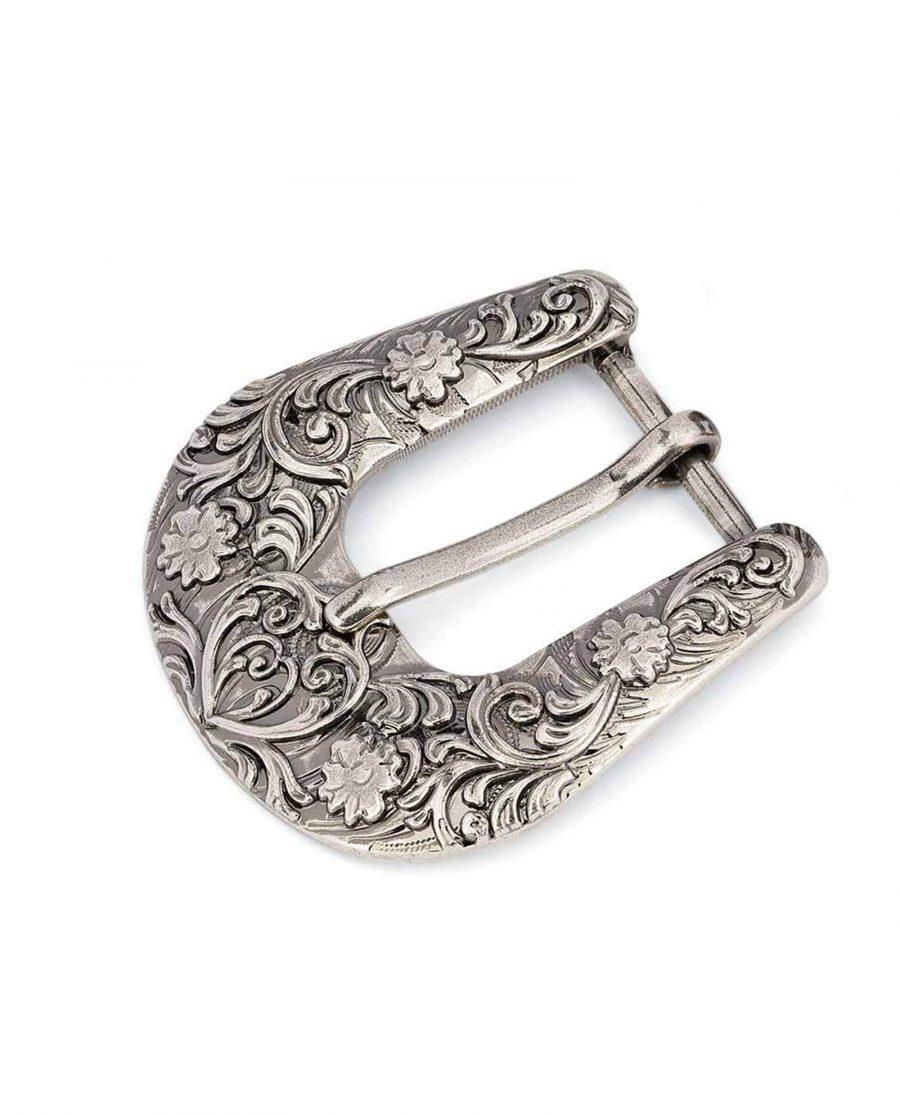 silver antique womens western belt buckle 25mm 15usd 0