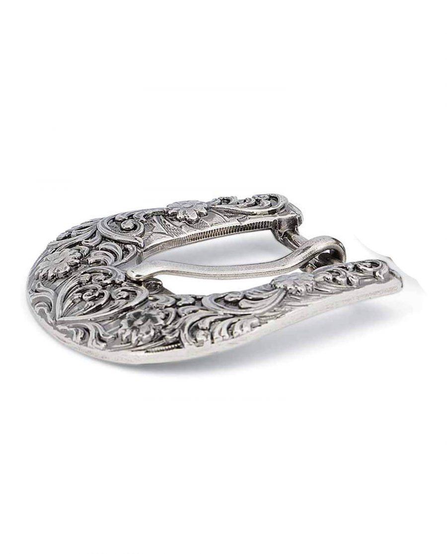 silver antique womens western belt buckle 25mm 15usd 13