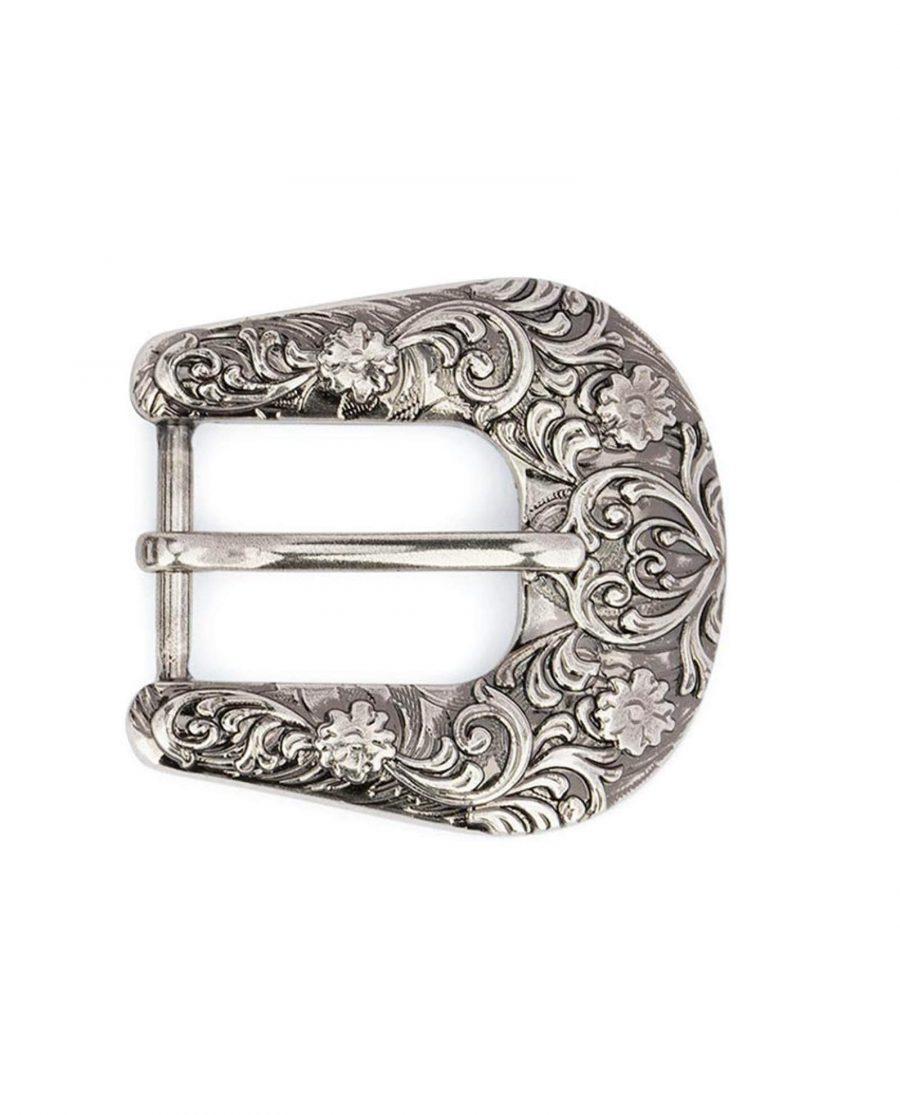 silver antique womens western belt buckle 25mm 15usd 16