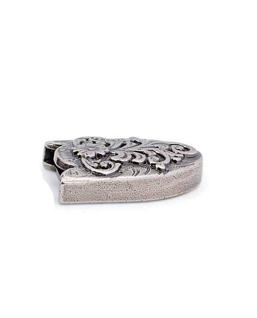 western belt tips antique silver 22mm 5usd 4