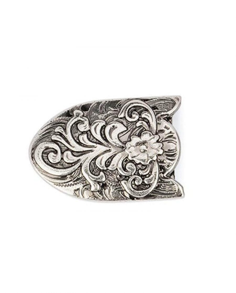 western belt tips antique silver 22mm 5usd 5