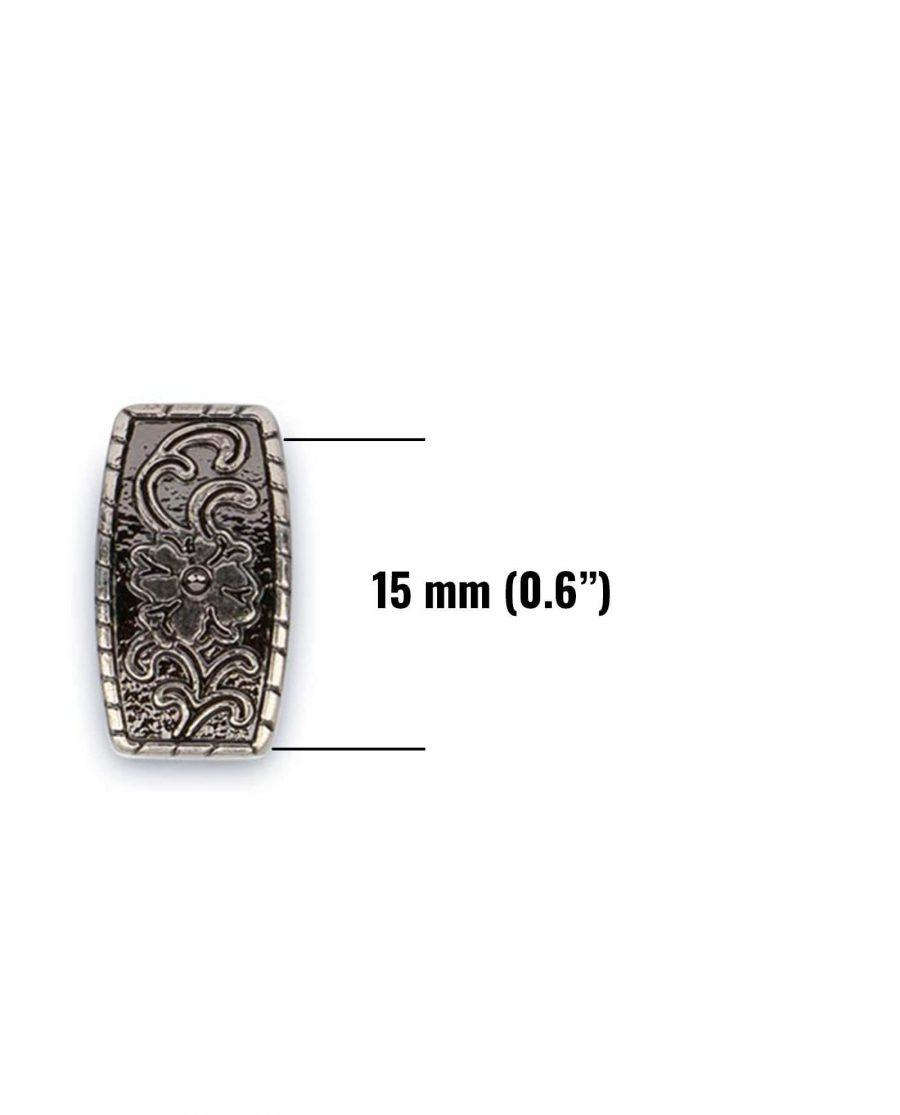 western metal belt loop 15mm 5usd 3