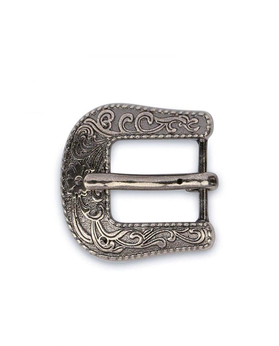 womens western belt buckle silver antique 15mm 10usd 2