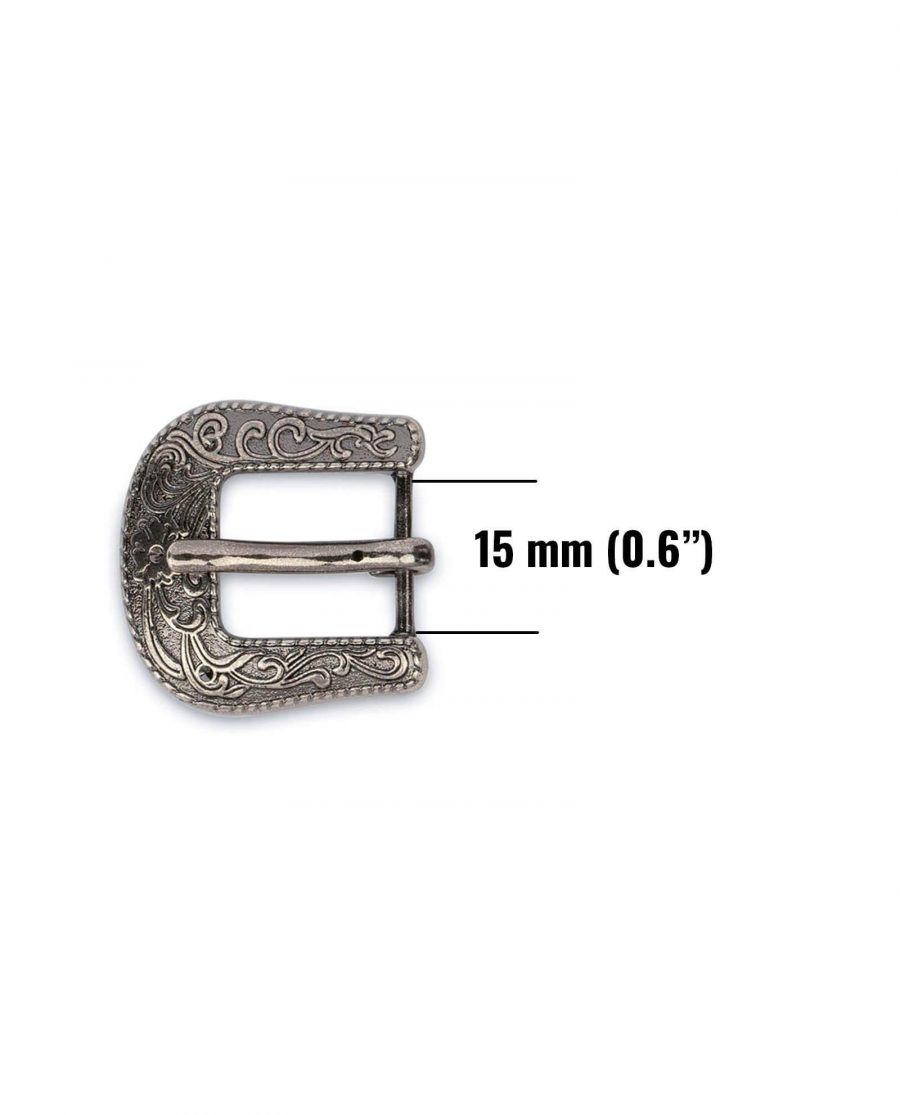 womens western belt buckle silver antique 15mm 10usd 5